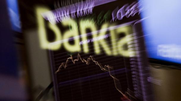 Bankiaren akzioek % 28,34ko beherakada jasan dute burtsara itzultzean.