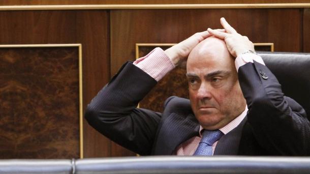 Luis de Guindos Espainiako Ekonomia ministroa.