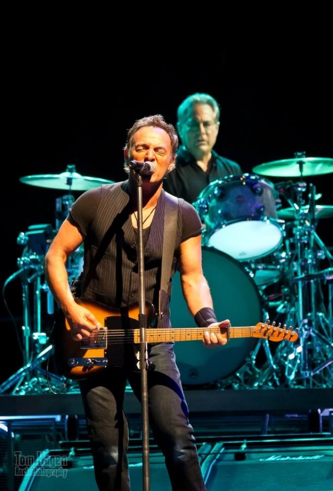 Bruce Springsteen. Foto: Tom Hagen