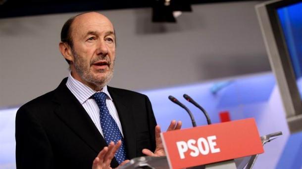 Alfredo Pérez Rubalcaba convoca una rueda de prensa. 669719_alfredo_perez_rubalcaba_psoe_EFE_foto610x342