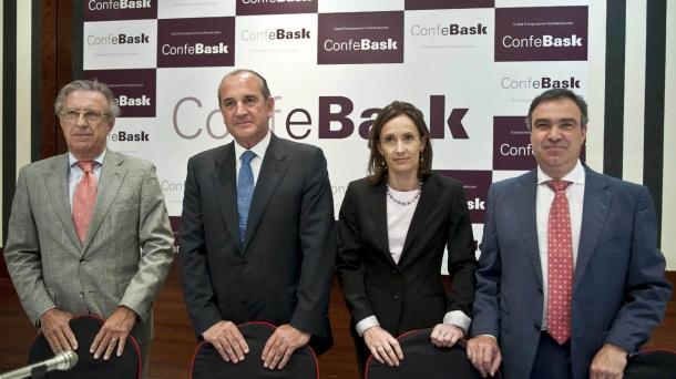 Confebaskek ondare eta enpresa publikoak saltzea proposatu du.