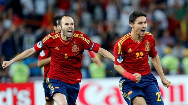 Spain midfielder Andres Iniesta. Photo: EFE
