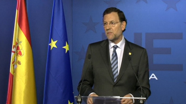 Mariano Rajoy Espainiako Gobernuko presidentearen artxiboko irudia.
