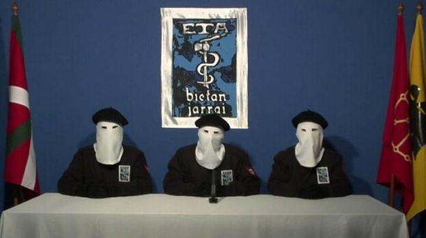 Photo de l'organisation armée ETA.