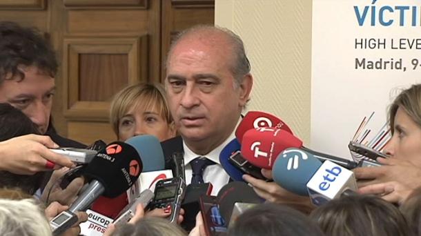 Interior Minister Jorge Fernandez Diaz. Photo: EITB