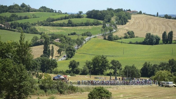 Tour de Francia, imagen de archivo. Foto: EFE