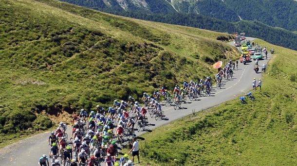 Ciclismo. Foto: EFE
