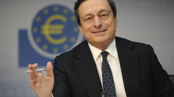 Mario Draghi Europako Banku Zentralaren (EBZ) presidentea.