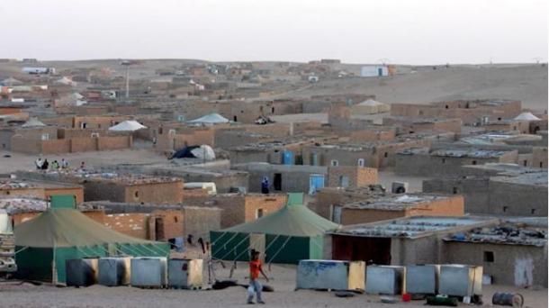 Campamento de refugiados en Tinduf. Foto: EFE