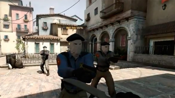 La facción 'separatista' del 'Counter-Strike: Global Offensive'.