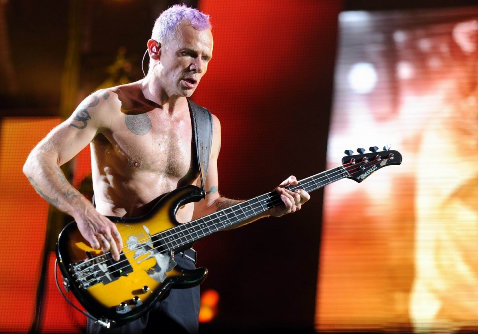 Red Hot Chili Peppers. Argazkia: EFE
