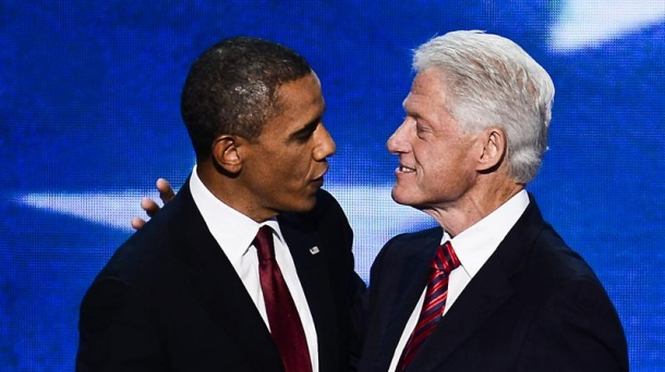 Bill Clinton et Barack Obama font front uni à la convention démocrate.
