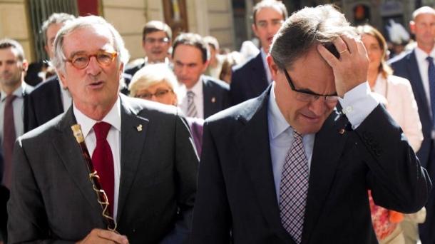 Convergence and Union (CiU) leader Artur Mas. Photo: EFE