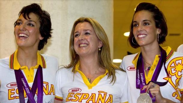 Anna Tarrés (centro).