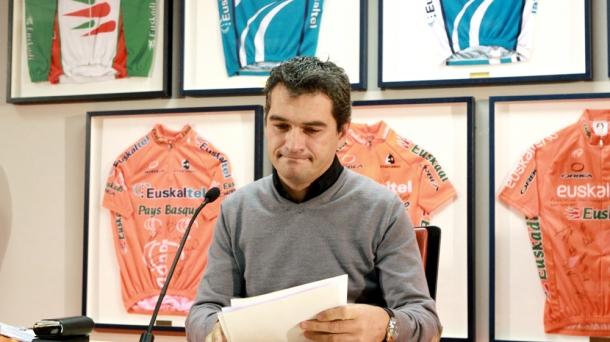 Euskaltel team manager Igor Gonzalez de Galdeano. Photo: EFE