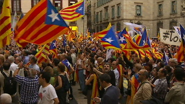 Hundreds of thousands of Catalans marched in Spain's second city Barcelona in September demanding independence as the central government imposes pending cuts to achieve Europe-imposed deficit targets.