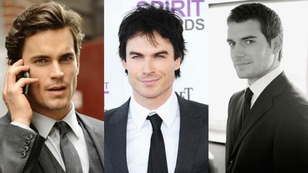 Matt Bomer, Ian Somerhalder y Henry Cavill, tres actores que podrían encarnar a Christian Grey.