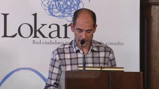 Paul Rios, du réseau citoyen Lokarri.