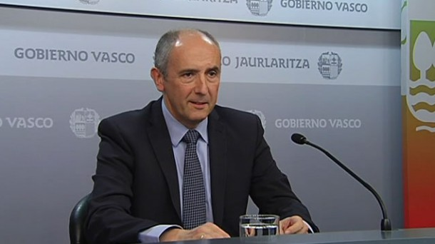 El portavoz del Gobierno Vasco, Josu Erkoreka. Foto: EITB