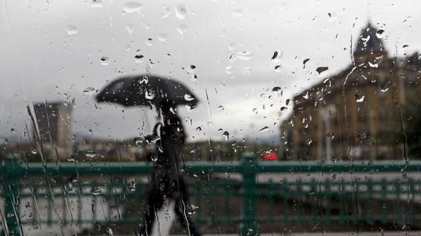 Vuelven la lluvia y el frio. Foto: EITB