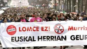 hezkuntza_lomceren_aurka_manifestazioa_bilbo_EFE
