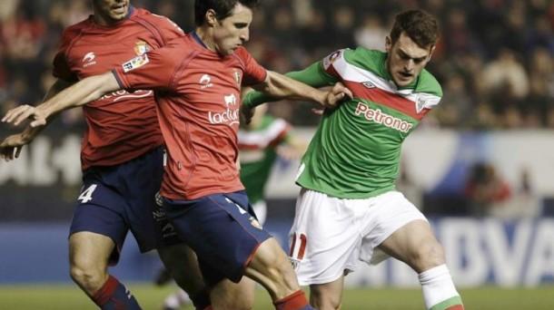 Osasuna jugará el domingo 31 a las 12:00 en Valladolid. Efe.