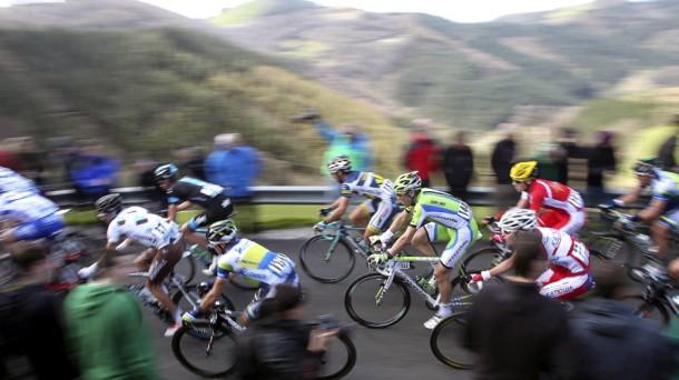 Vuelta Ciclista al País Vasco. Foto: Efe.