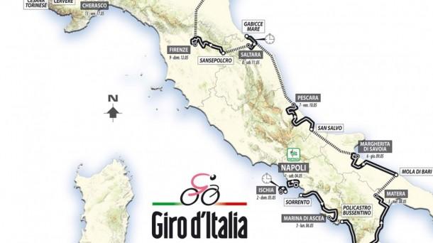 Giro de Italia 2013. Foto: EFE