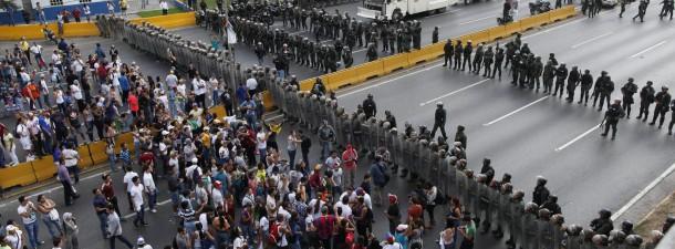 Venezuela, disturbios, capriles, maduro, EFE