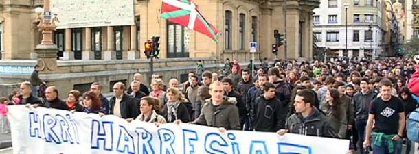 Donostia_manifestación Segi