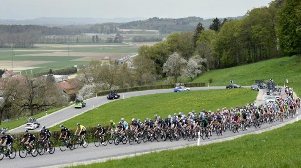 El Giro se disputa entre el 4 y el 26 de mayo. Efe.