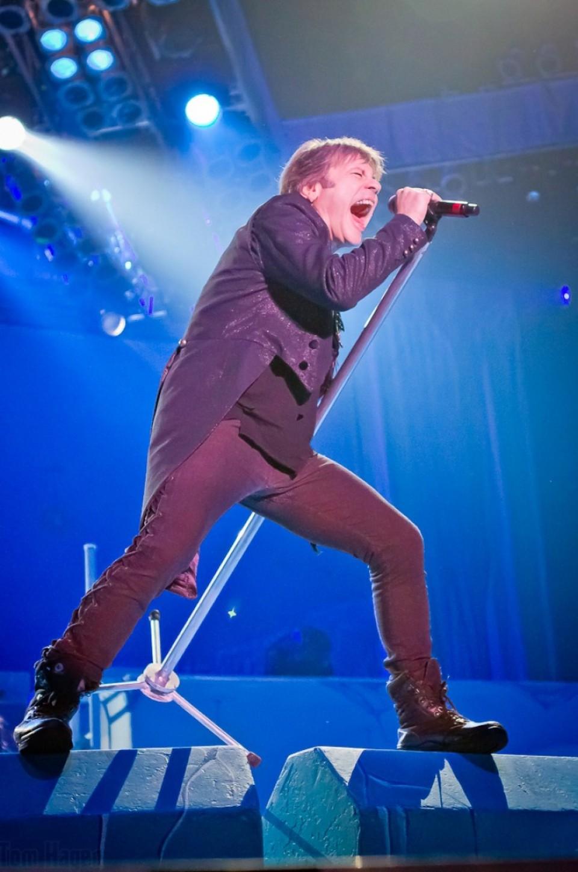 Iron Maiden en el BEC. Foto: Tom Hagen