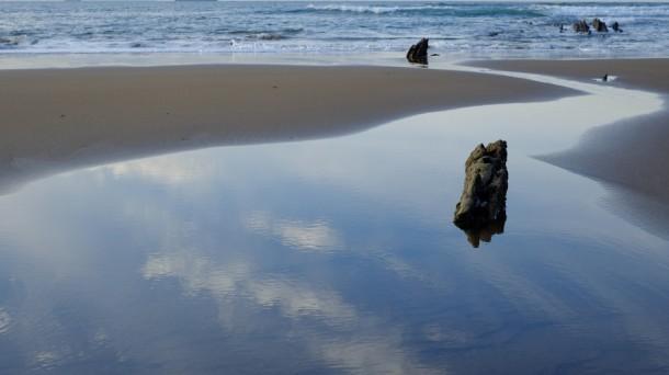 Playa de Barinatxe en Sopelana. Foto: Eneko Anasagasti