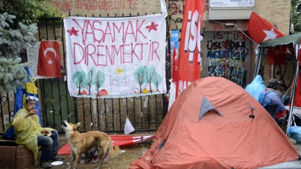 Protestas en Turquía. Foto: EFE