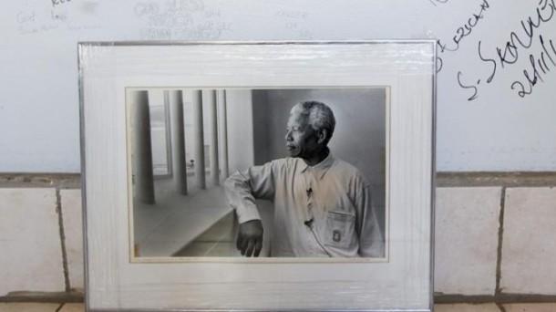 Nelson Mandela pasó 27 años de su vida en la cárcel. Foto: Efe