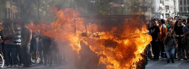 Lomce protestak valencia efe