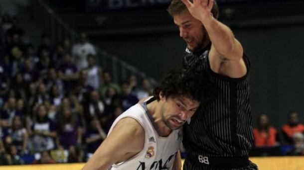 El Real Madrid ha ganado 92-75 al Bilbao Basket. Foto: EFE