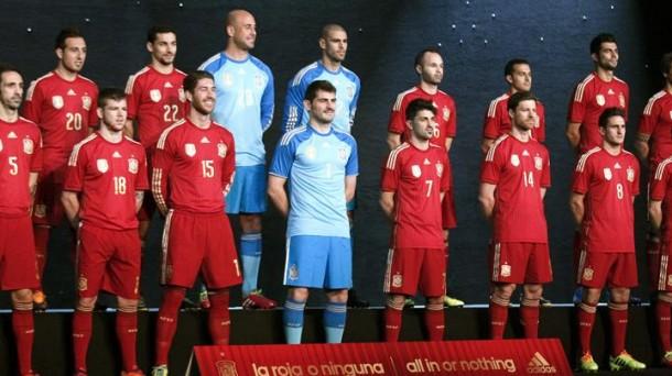 España, actual campeona del mundo. Foto: EFE