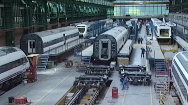 Caf se adjudica un contrato para suministrar 21 trenes a for Como se fabrica el marmol