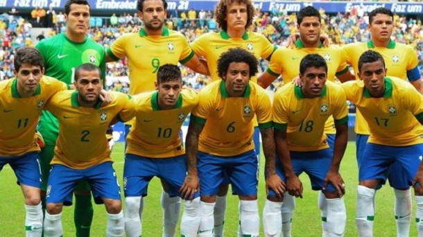 La anfitriona Brasil se enfrenta a Croacia en el partido inaugural del Mundial. Efe.