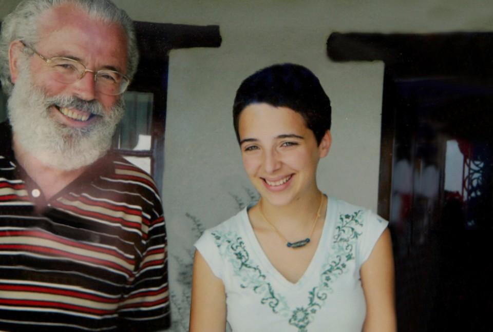 Xabier eta Miren Amuriza, 16 urte zituela –Etxano, 2006