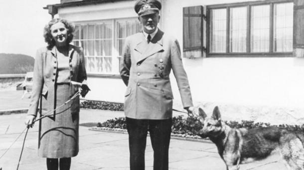 Eva Braun y Adolf Hitler. Foto: Wikipedia