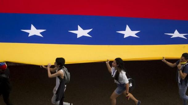 Potesta en Venezuela. Foto: Efe