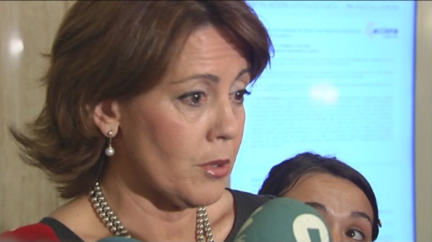 La presidenta de Navarra Yolanda Barcina. Foto: EiTB