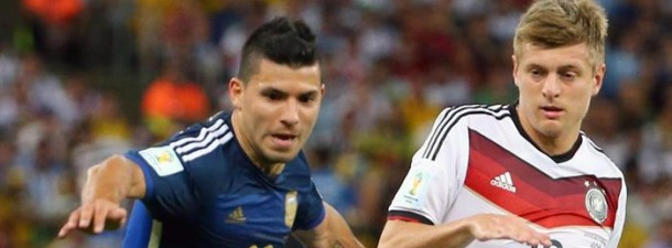 argentina alemania aguero kroos mundial efe