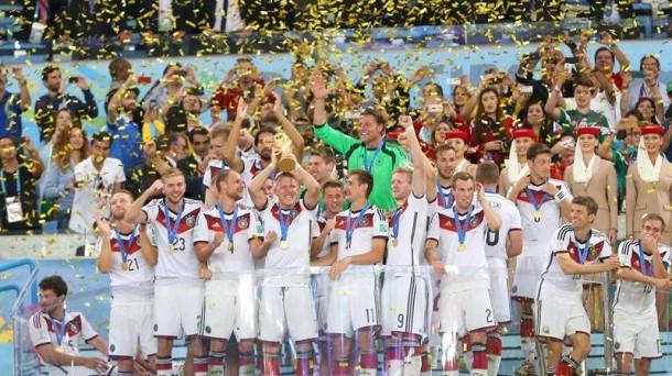 Alemania, campeón del mundo