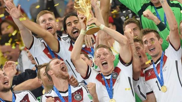 Alemania, vigente camepona del mundo. Efe.