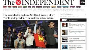 Eskozia The Independent