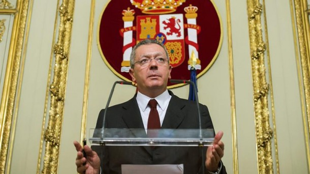 Alberto Ruiz-Gallardón. Foto: EFE.
