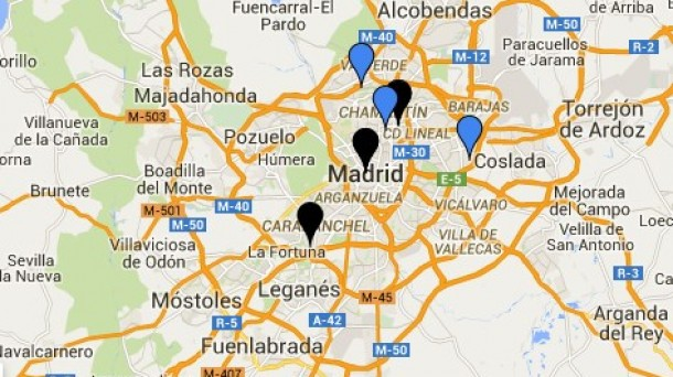 Mapa de corrupcin Espaa  Casos de corrupcin poltica y